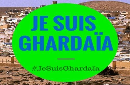 Article : Algérie : sauver Ghardaïa