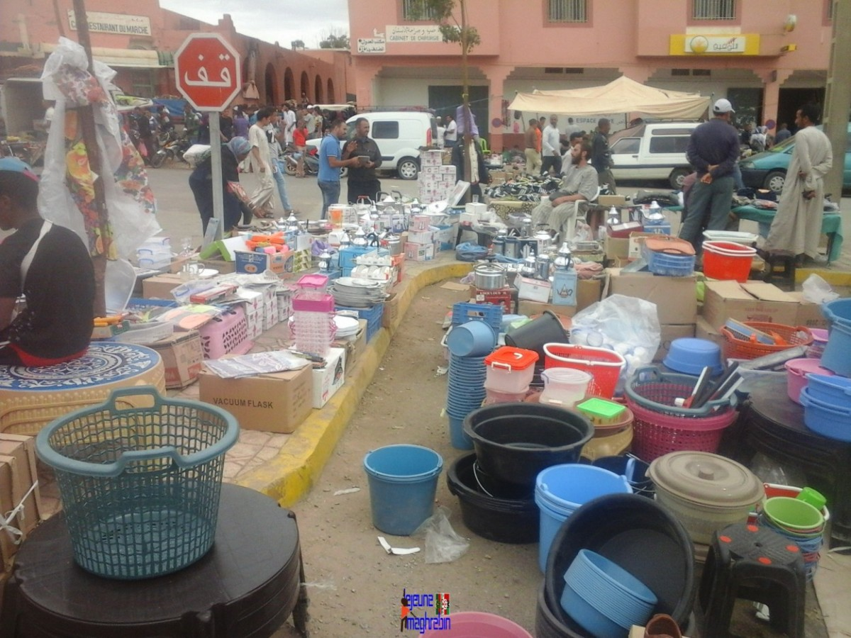 Maroc les coulisses du a d al adha le jeune maghr bin - Ustensile de cuisine en f ...