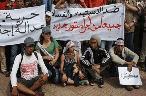 Article : L'«exception marocaine» : la grande imposture